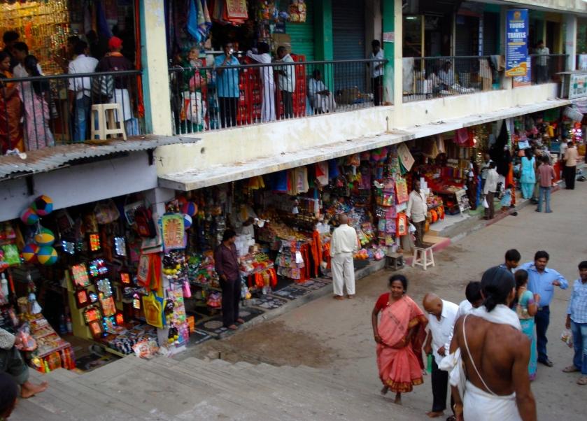Tirumala Temple street