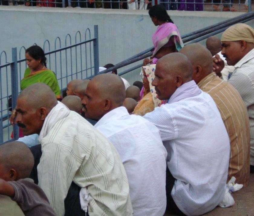 Tirumala, pilgrims