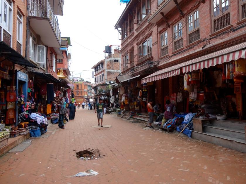 Boudhanath road