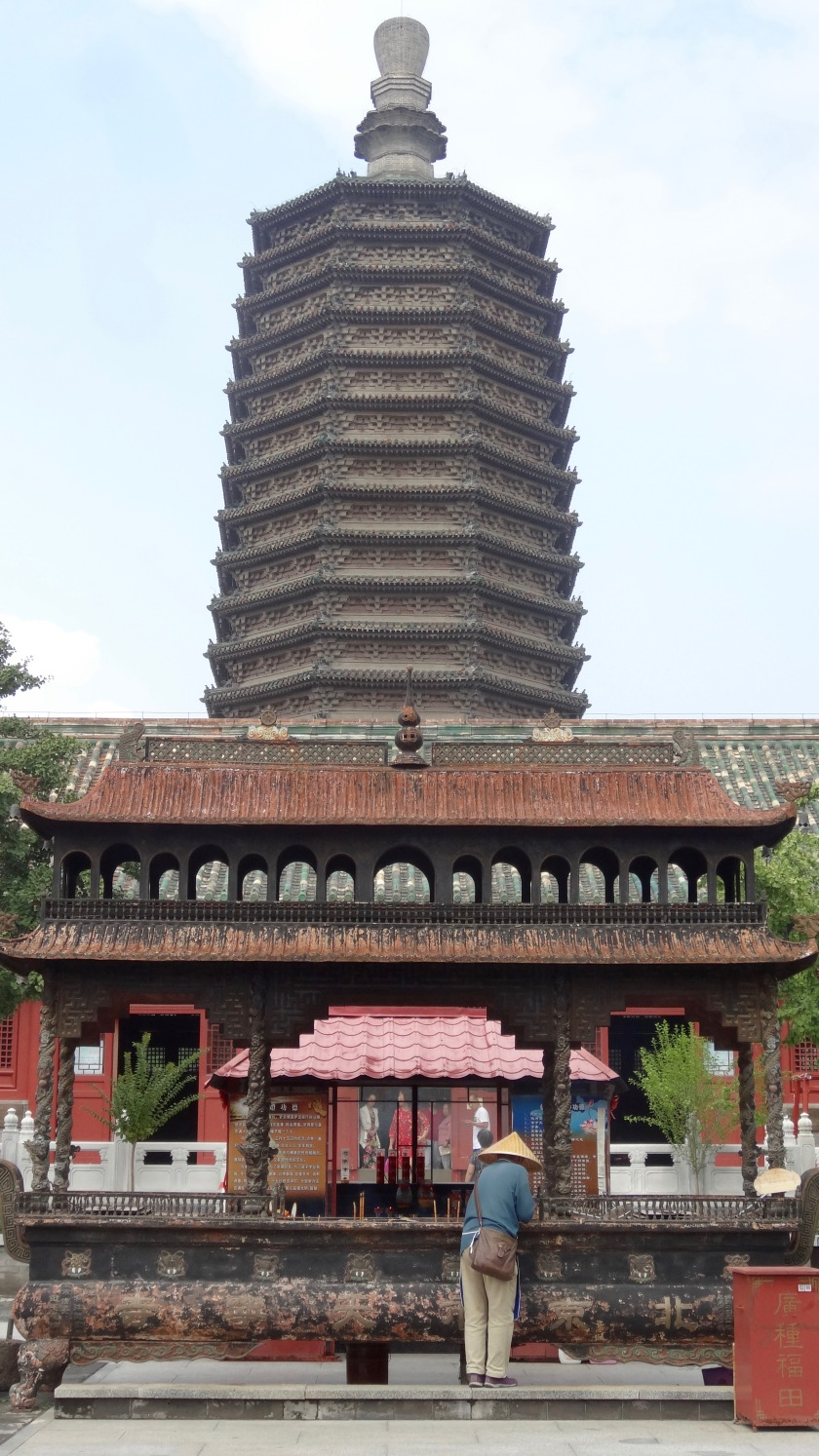 Tianning Pagoda, Beijing