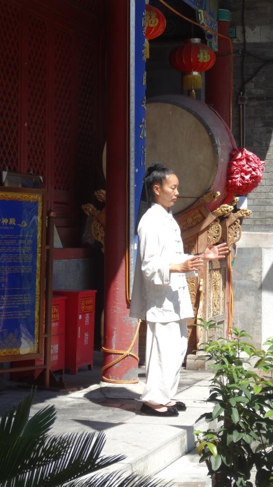 Taoist in qi gong