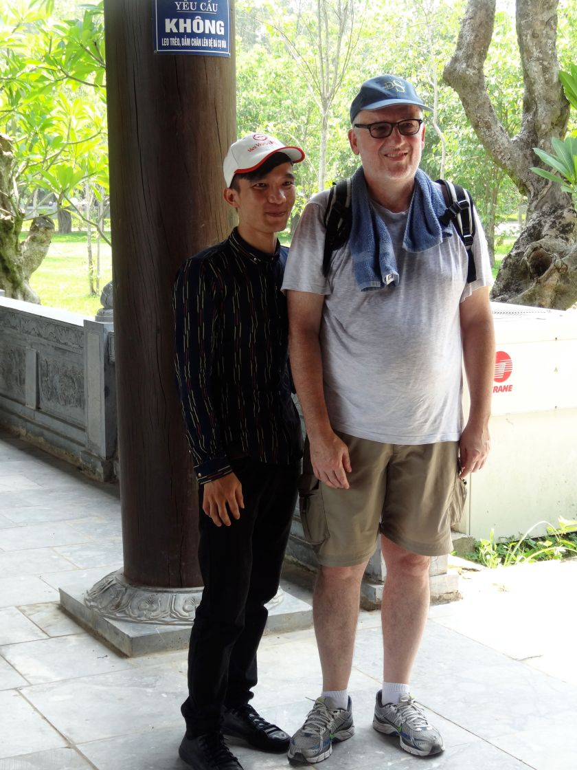 City Pilgrim at Chua Bai Dinh