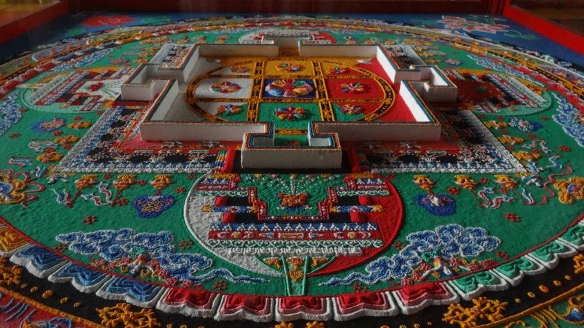 Mandala al tempio dei Lama