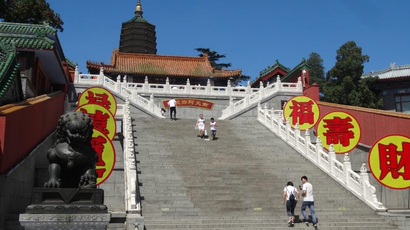 Badachu, scala verso Lingquan