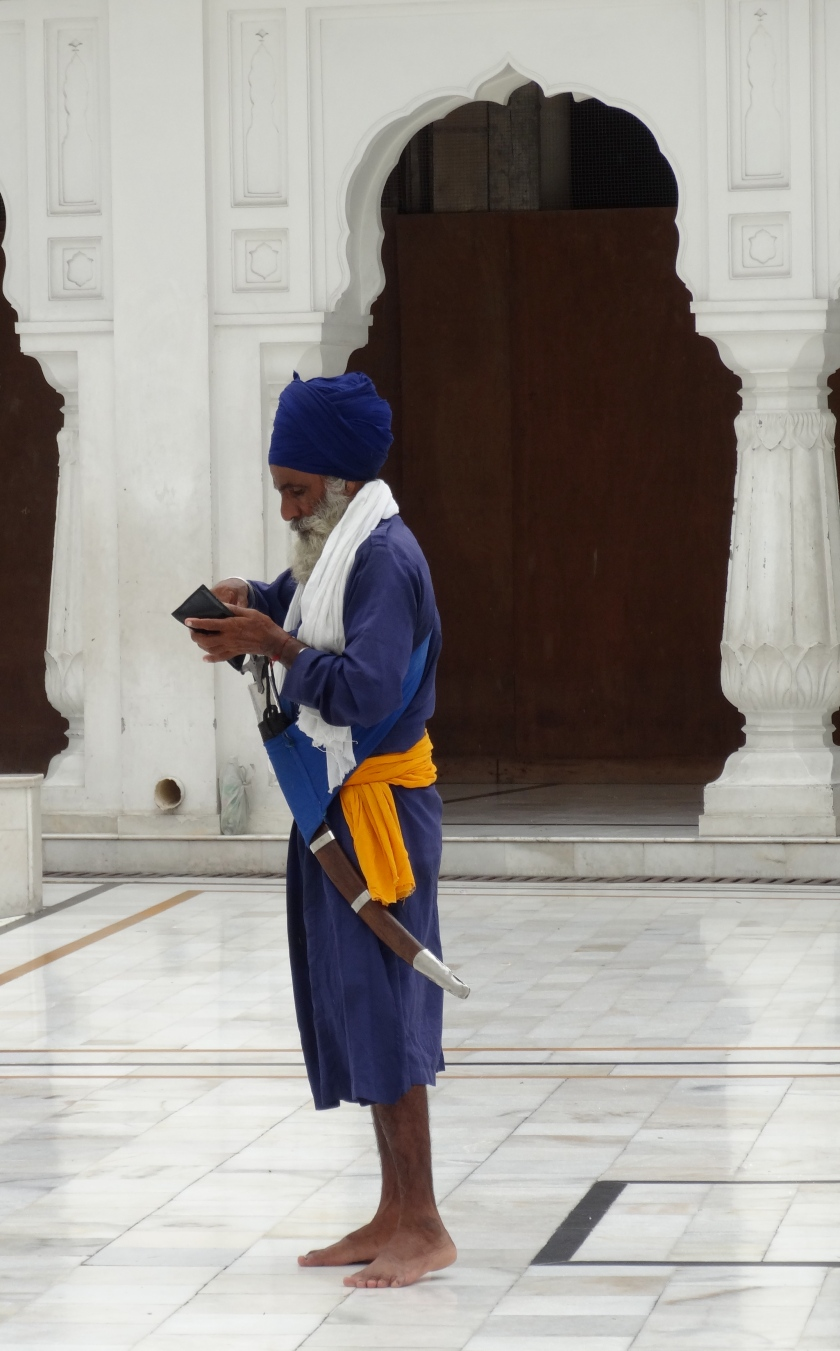 Old sikh warrior