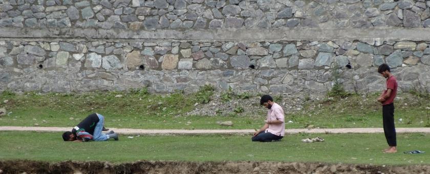 Yusmarg open air prayer