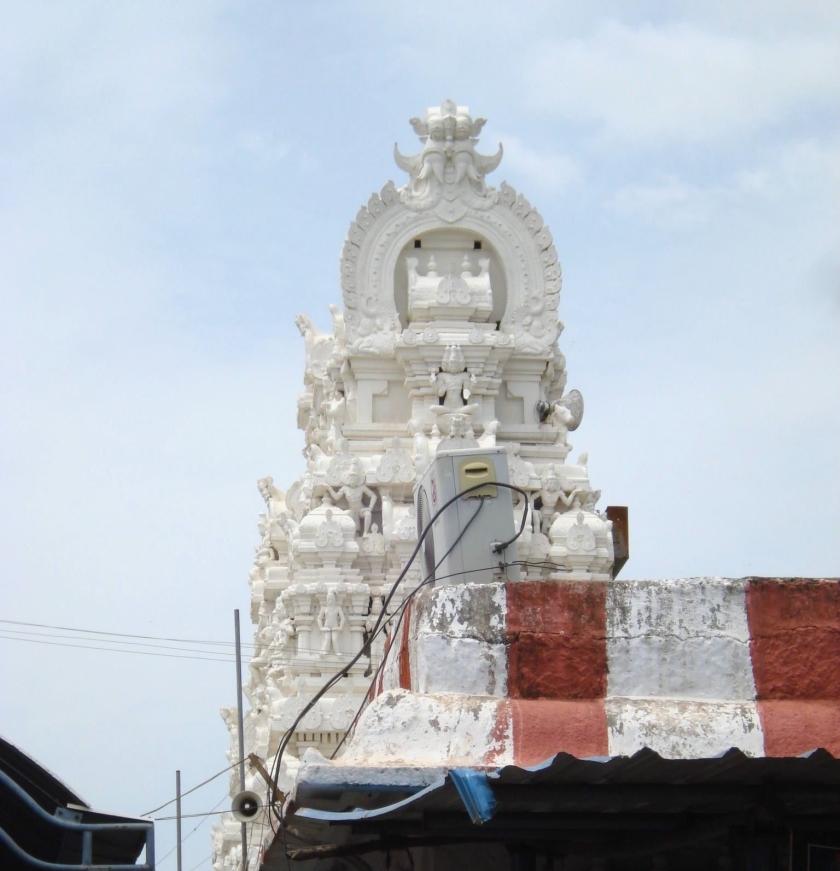 Sri Kalahasti - Gopuram side view