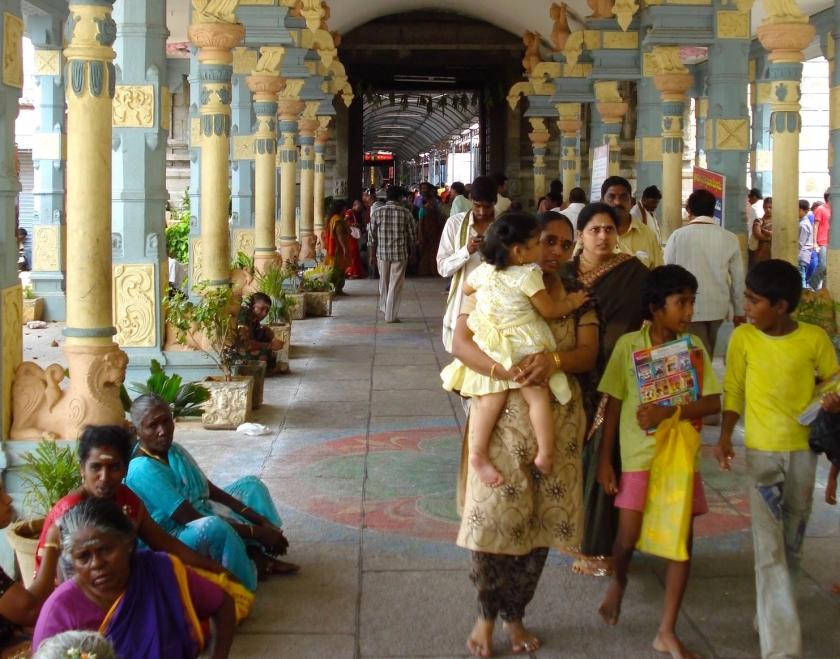 Sri Kalahasti - pilgrims