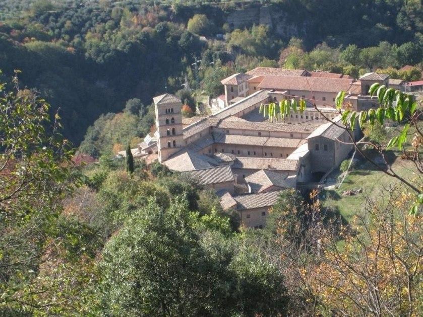 Subiaco,_Abbaye_Sainte-Scolastique