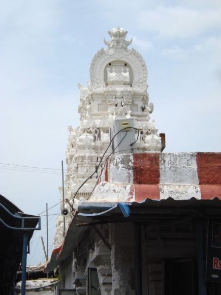 Sri Kalahasti - Gopuram side view