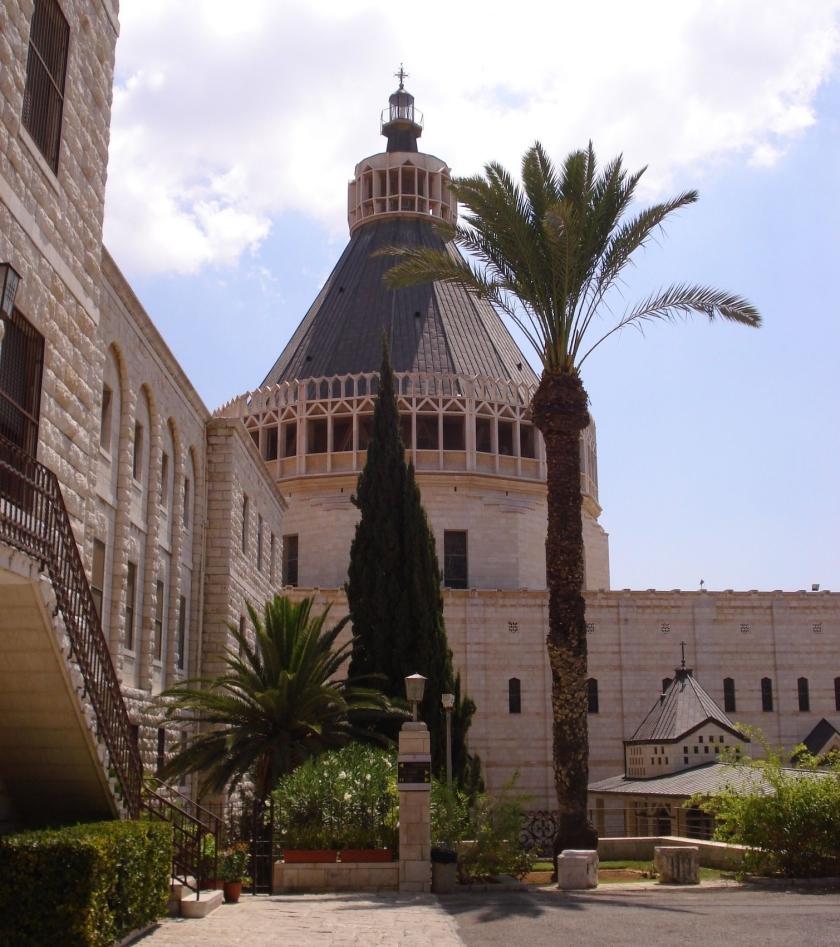 784 -nazareth chiesa annunciazione